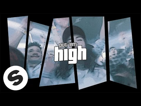 Jay Hardway & Robert Falcon - Put Em High (feat. Therese) [Official Lyric Video]