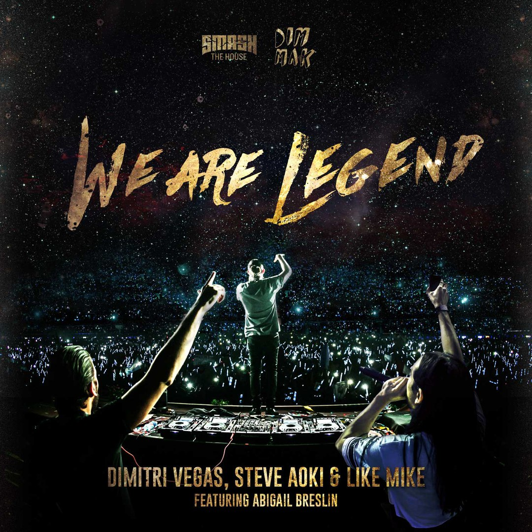 Dimitri Vegas & Like Mike vs Steve Aoki -  We Are Legend (Original Mix)
